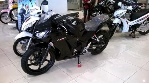 CBR300R black Color