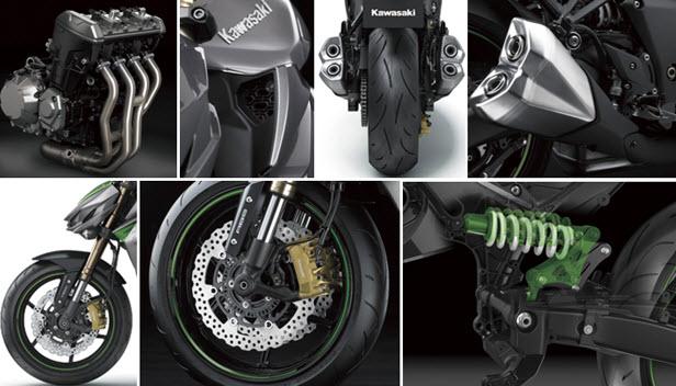 Kawasaki Z1000 รุ่นปี 2014