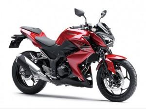 Kawasaki Z250 สีแดง
