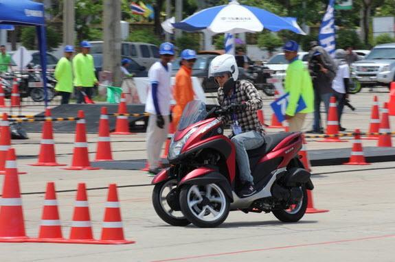 Yamaha Tricity Test Drive