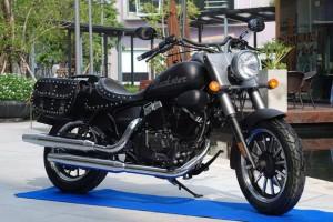 Keeway Blackster 250i