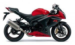GSX-R1000 Red Color