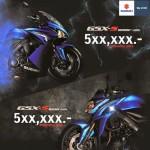 Suzuki GSX S1000 ABS ราคาเปิด 5xx,xxxบาท
