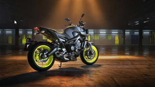 All New Yamaha MT-09 2017