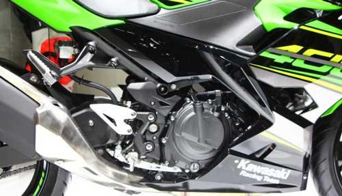 All New Kawasaki Ninja400 เครื่องยนต์ 400 ซีซ๊