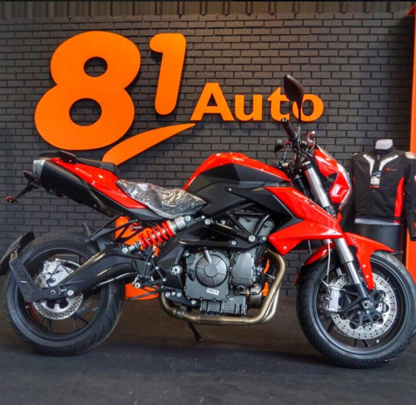 Benelli BN600i 600cc 4สูบ 82HP