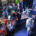 มอไซค์Vintage 110cc. พิเศษในงาน Motor Expo