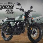 Legend 150 สีใหม่ ราคาเงินสด 49,500 บาทผ่อนงวดละ 2,639 บาท
