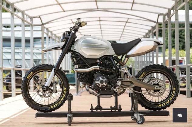 Ducati Scrambler Desert Sled Concept ภาพที่ 4