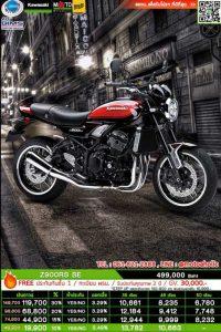 Kawasaki Z900RS SE ตารางผ่อน