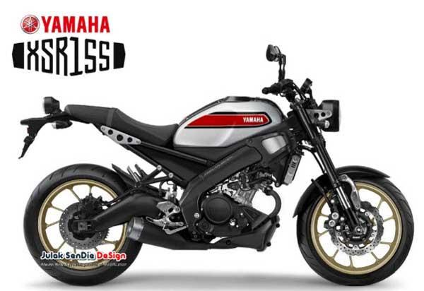 New Yamaha XSR155ราคา