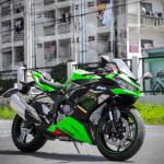 กำเงิน24,600 บาทไปออกKawasaki  Ninja ZX-6R 2020