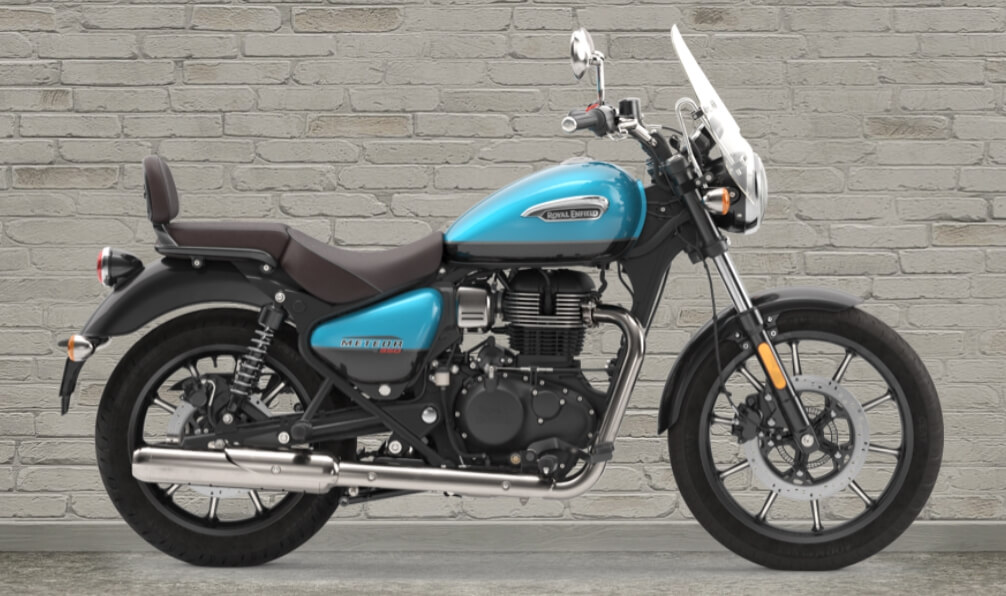 Royal Enfield Meteor 350 สีฟ้า