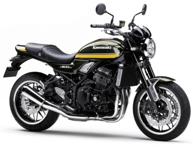 Kawasaki Z900RS 2022 สีใหม่ของปีหน้า
